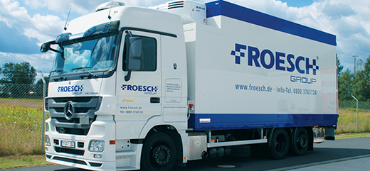 One of the Froesch group trucks.